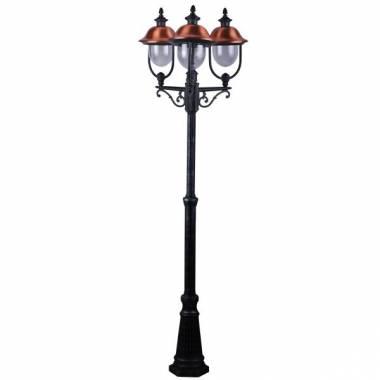 Фонарный столб Arte Lamp A1486PA-3BK Barcelona