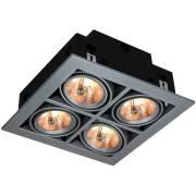 Точечный светильник CARDANI Arte Lamp A5930PL-4SI