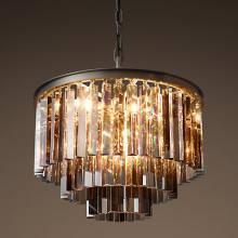 Светильник 1920s Odeon Glass Fringe Chandelier BLS 30334