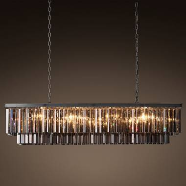 Светильник BLS 30340 1920s Odeon Glass Fringe Chandelier