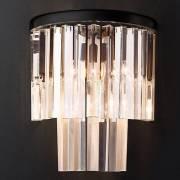 Бра 1920s Odeon Glass Fringe Chandelier BLS 31214