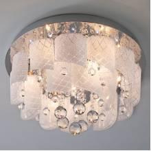 Светильник Cascade BOGATES 80117/8 хром/белый