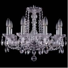 Люстра Серия 1402 Bohemia Ivele Crystal 1402/8/160/Ni