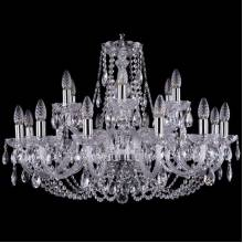 Люстра Серия 1406 Bohemia Ivele Crystal 1406/12+6/300/Ni