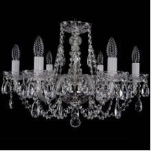 Люстра Серия 1406 Bohemia Ivele Crystal 1406/6/195/Ni