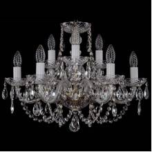 Люстра Серия 1406 Bohemia Ivele Crystal 1406/6+3/195/Pa