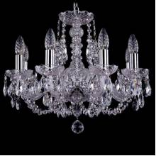 Люстра Серия 1406 Bohemia Ivele Crystal 1406/8/160/Ni