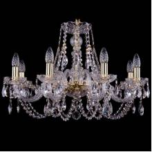 Люстра Серия 1406 Bohemia Ivele Crystal 1406/8/240/G