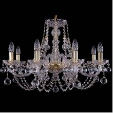 Люстра Серия 1406 Bohemia Ivele Crystal 1406/8/240/G/Balls