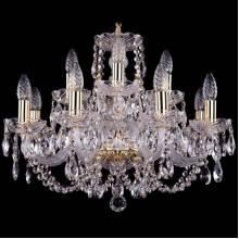 Люстра Серия 1406 Bohemia Ivele Crystal 1406/8+4/195/G