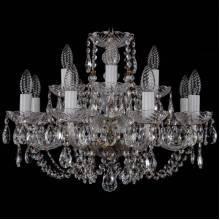 Люстра Серия 1406 Bohemia Ivele Crystal 1406/8+4/195/Pa