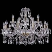 Люстра Серия 1413 Bohemia Ivele Crystal 1413/10+5/300/Pa