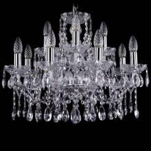Люстра Серия 1413 Bohemia Ivele Crystal 1413/8+4/200/Ni