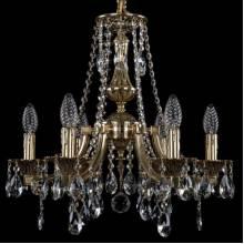 Люстра Серия 1771 Bohemia Ivele Crystal 1771/6/150/A/GB