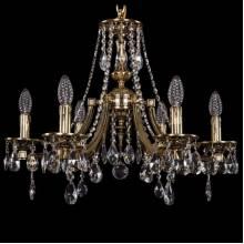 Люстра Серия 1771 Bohemia Ivele Crystal 1771/6/190/A/GB