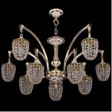 Люстра Серия 1772 Bohemia Ivele Crystal 1772/10/342/GW