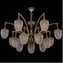 Люстра Серия 1772 Bohemia Ivele Crystal 1772/14/342/GB