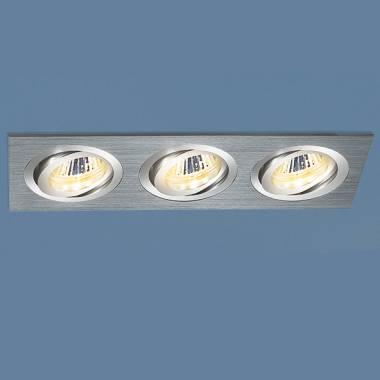 Точечный светильник Elektrostandard 1011/3 MR16 CH хром Arigof