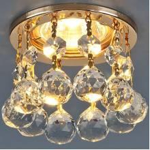 Точечный светильник Isteraud Elektrostandard 2051 MR16 GD/CL золото/прозрачный
