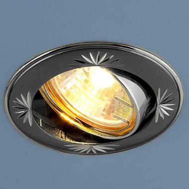 Точечный светильник Elektrostandard 104A MR16 GU/SL черный/серебро Kolidora