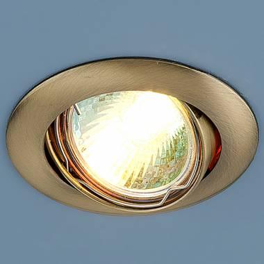 Точечный светильник Elektrostandard 104S MR16 SB бронза Kolidora