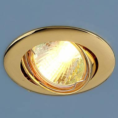 Точечный светильник Elektrostandard 104S MR16 GD золото Kolidora