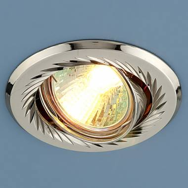 Точечный светильник Elektrostandard 704 CX MR16 PS/N перл. серебро/никель Kolidora