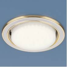 Точечный светильник Antiko Elektrostandard 1036 GX53 WH/GD белый/золото