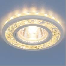 Точечный светильник Серия 8355 Elektrostandard 8355 MR16 CL/WH прозрачный/белый