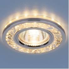 Точечный светильник Серия 8355 Elektrostandard 8355 MR16 CL/CH прозрачный/хром
