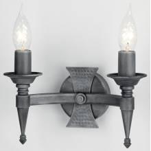 Бра SAXON Elstead Lighting SAX2 BLK/SIL