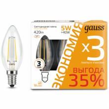 Свеча Gauss 103801105T