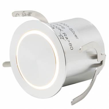 Встраиваемый в стену светильник LEDRON MJ-4001-sil MJ