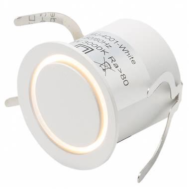 Встраиваемый в стену светильник LEDRON MJ-4001-wh MJ
