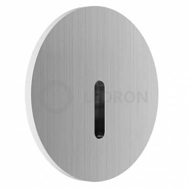 Встраиваемый в стену светильник LEDRON R712 Silver Light Step