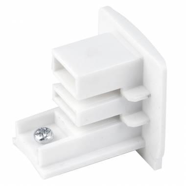 Заглушка для однофазной шины MEGALIGHT(Track White1) WSO 35B white