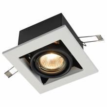 Точечный светильник Metal Maytoni DL008-2-01-W