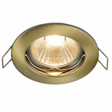 Точечный светильник Maytoni DL009-2-01-BZ Metal